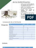 Composicion biofertilizantes