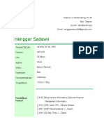 _henggar Sadewo Cv 1