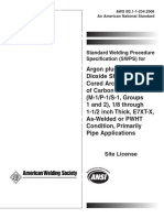 AWS B2.1-1-234-2006 SWPS Argon plus 25% CO2 FCAW of Carbon Steel E7XT-X, As-Welded or PWHT Co.pdf