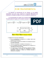Control Automético de Procesos Teoría Unidad I y II