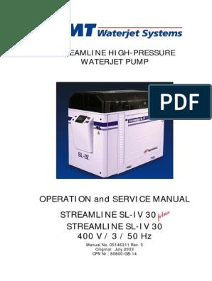 SL-IV 30 PLUS   Pump   Valve