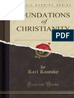 Karl Kautsky Foundations of Christianity