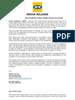 MTN Closes Its IPO