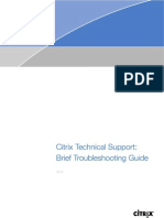 Citrix Basic Troubleshooting
