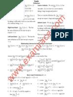 Mathematics Limits
