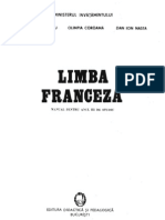 03 Limba Franceza - Manual Pentru Anul III de Studiu