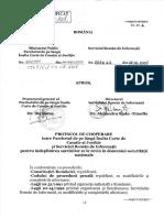 Protocol cu SRI 2005