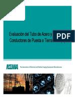 Evaluacion del Tube de Acero como Conductores de Puesta a Tierra.pdf