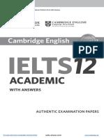 IELTS Cambridge 12