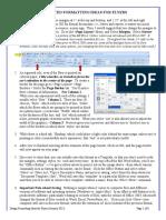 Desktop Publishing Flyers Fjmc