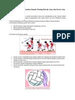 Gerakan Dasar Dan Gambar Dalam Permainan Bola Volly