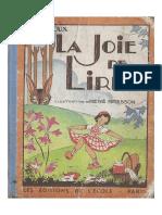H.filloux_La Joie de Lire_Contes Et Récits