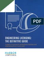 engineering licensing