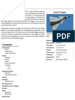 Saab 37 Viggen - english