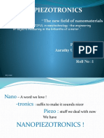 Seminar Nanopiezotronics