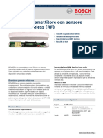 Bosh RF3405E sensor Data-sheet
