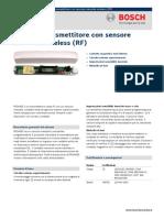 Bosh RF3405E sensor Data-sheet