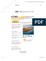 COINs 2010 Newsletter