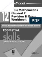 Y12 Maths General Resources - Excel Revision Exam Workbook