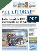 El Litoral Mañana 04-08-2018