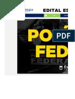 Edital Estratégico - PF Agente (Planilha)