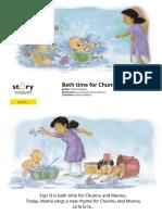 6100 Bath Time for Chunnu and Munnu Childrens Picture Book