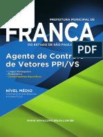 Franca-s Agente Controle de Vetores - Ppi-Vs 158 Pgs Amazon