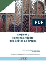 BOITEUX (CEDD) - Mujeres y Encarcelamiento Por Delitos de Drogas