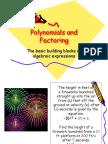 A Polynomials and Factoring2