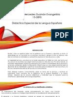 Trabajo Final Didactica de La Lengua Española