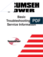 15599318 Tecumseh Basic Troubleshooting Service Information
