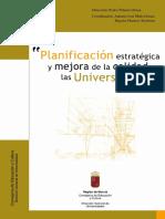Planificación Estratégica y Mejora de La Calidad en Las Universidades