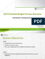 Budget Process Overview