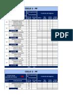 Plano de Estudos - PF Agente (Planilhas)
