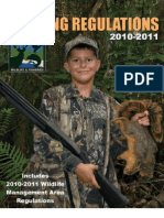 louisiana hunting regulations 2010 - 2011