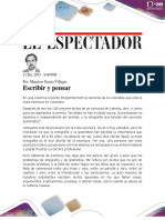 Articulo de Opinión_ Escribir y Pensar
