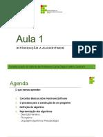 IFPB - IP - 01 - Algoritmo - Introducao