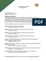 Class Guidelines - Deutsch 1