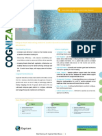 Cognizant Data Obscure Brochure