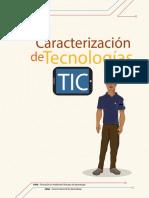 OA Caracterización de Tecnologías de La Información y Comunicación
