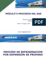Módulo 4 d Proceso de Refrigeracion Por Expansion de Propano