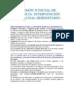 DIVISIÓN JUDICIAL DE HERENCIA