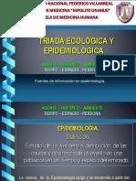 TRIADA ECOEPIDEMIOLOGICA