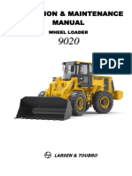 Operation & Maintenance Manual 9020