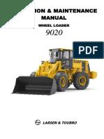 Operation & Maintenance Manual 9020