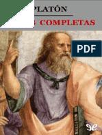 Platón - Obras completas