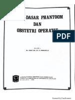 Dasar-Dasar Phantom Dan Obstetri Operatif