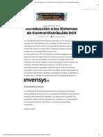 Sistemasde Control Distribuido DCS