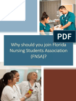 FNSA Membership Flyer Front and Back