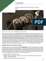 Algoritmi Dei Motori Di Ricerca - By Primositoweb Ing Stefano Basso